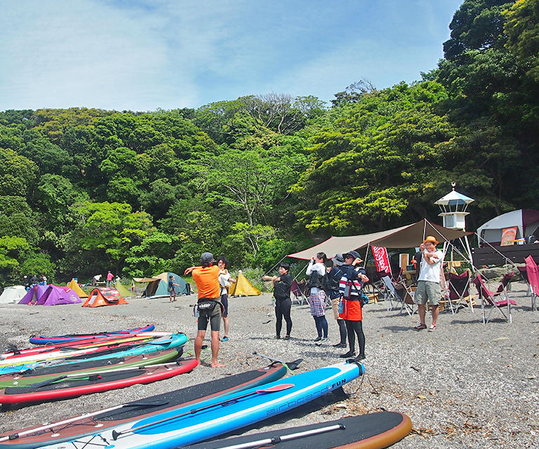 step camp base 油壺
